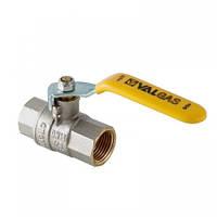 Шаровой кран газовый Valtec ВВ d15мм (ручка)