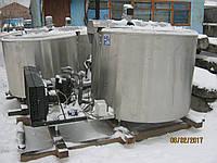 Охладитель молока De Laval 1200л.