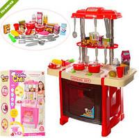 Детская кухня со звуком и сетом 922-14-15