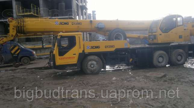 Автокран 30 тонн 38 м - стрела