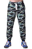 Мужские спортивные штаны хаки камуфляжные WOODLAND camo