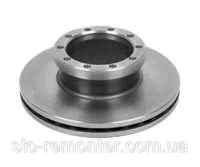 Тормозной диск передний MAN L2000, 324x30 OEM 81508030010
