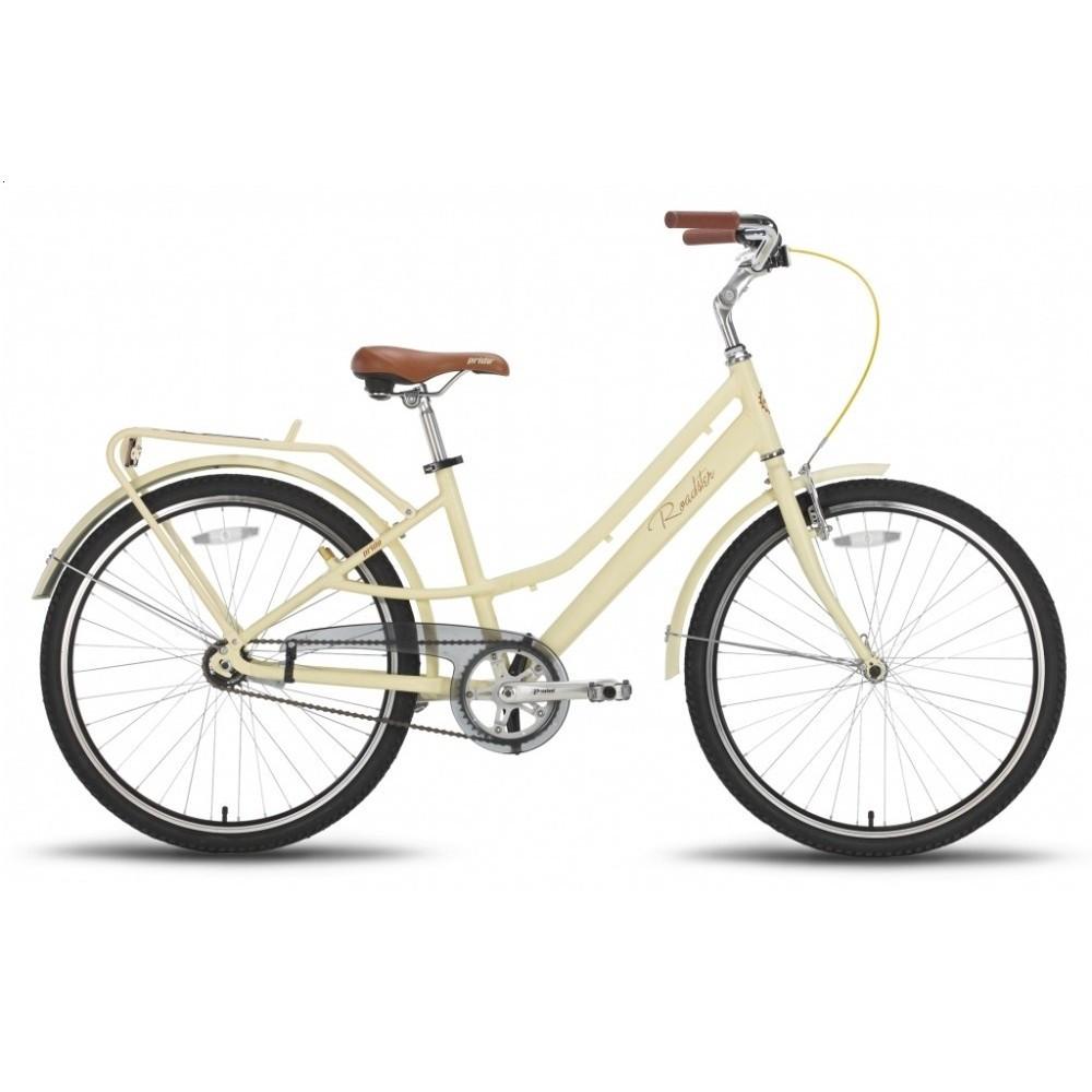 "Велосипед 26"" Pride Roadster рама - 16"" бежевый матовый 2016"