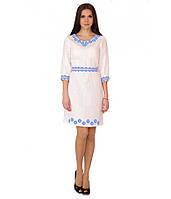 Плаття вишите жіноче Біле 42-52 рр