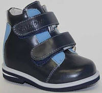 Детские ортопедические ботинки Сурсил Орто р.20-35 синие 09-016, фото 1