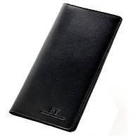 Мужской купюрник кожаный ST M Black, фото 1