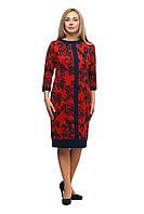 Женское повседневное платье большого размера 1705032/1V, фото 1
