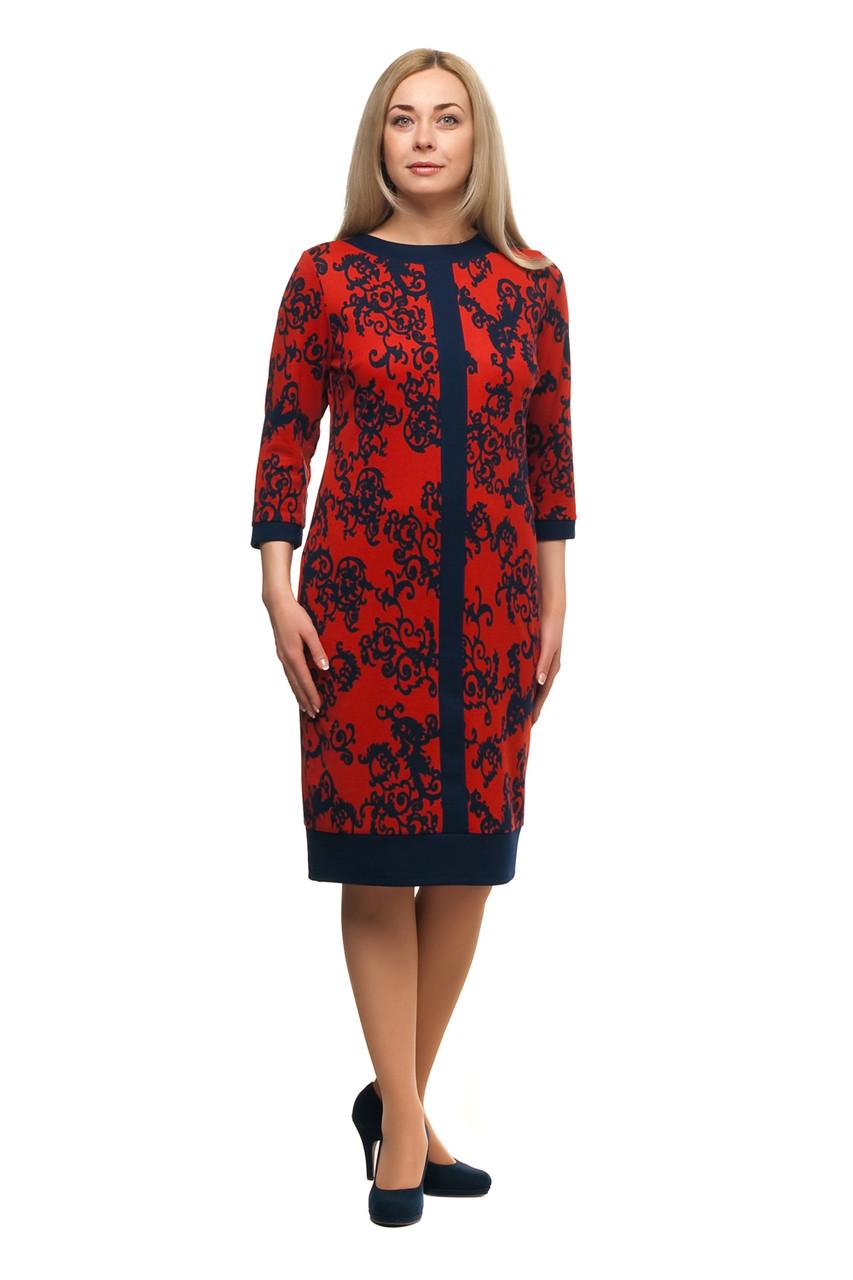 Женское повседневное платье большого размера 1705032/1V
