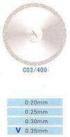 C03/400/0.35 диски алм.двухст.