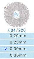 C04/220/0.30 диски алм.двухст.