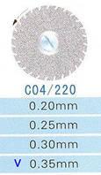 C04/220/0.35 диски алм.двухст.