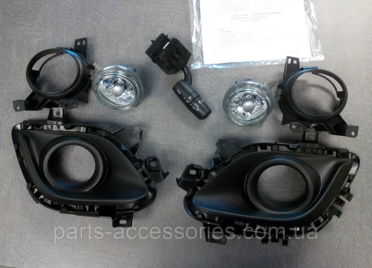Туманки противотуманные фары в бампер Mazda 6 2014-16 новые оригинал