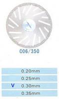 C06/350/0.30 диски алм.двухст.