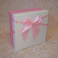 Коробка квадрат L 18,5 x 18,5 x 8,5 см