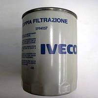 Фильтр масляный двигателя на Iveco Daily I(2.5D)/ II(2.5/2.8D)/ III(2.8D) 1989---2006  OE IVECO  2994057