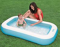 Детский надувной бассейн INTEX 57403 прямоугольный 166-100-28 см IKD