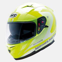Мотошлем MT BLADE SV REFLECTION желтый