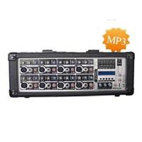 Активный микшерный пульт BIG PMX8350MP3+PHANTOM - 350W (4Ω)