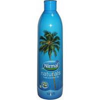 Натуральное кокосовое  масло первого холодного отжима нерафинированное KLF Nirmal Naturals pure Coco