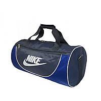 Спортивная сумка в форме цилиндра Nike105 среднего размера серая-электрик