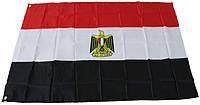 Национальный флаг Египта 90х150см