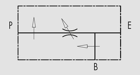 """Регулятор расхода 3х линейный с продолжением линии давления VPR3 1/2"""" (Италия), фото 2"""