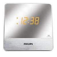 Серые стильные настольные радиочасы  Philips AJ3231 AJ3231/12
