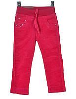 Брюки вельветовые для девочки 4-7 лет Merkiato розовые