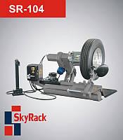 Полуавтоматический шиномонтажный стенд для грузовых автоSR-104