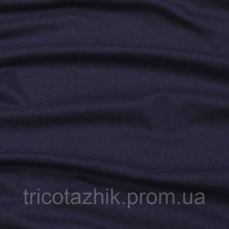 Интерлок темно-синий