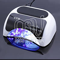 УФ LED+CCFL лампа Professional nail для гель-лаков и геля 48 Вт (white)