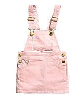 Комбинезон-юбка для девочек фирма H&M