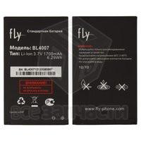 Батарея аккумуляторная BL4007 для мобильного телефона Fly DS123, original, (Li-ion 3.7V 1700mAh)