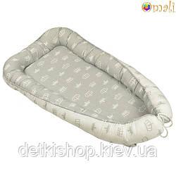 Гніздо для немовлят ТМ «Omali» royal сіре