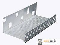 ТМ CAPATECT Профиль цокольный алюминиевый 100 мм., 2.5 м.п., толщина 0.8мм, шт.