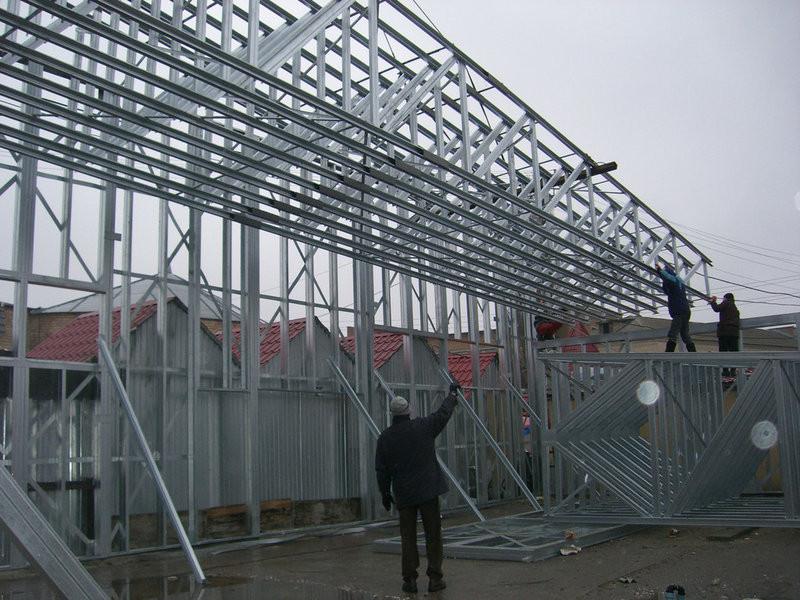 Строительство склада. г. Александрия