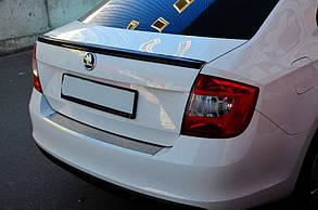Спойлер кришки багажника Skoda Rapid 2012-