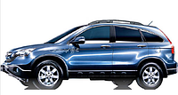 Honda CRV 2007-2013 рейлинги на крышу, Black.