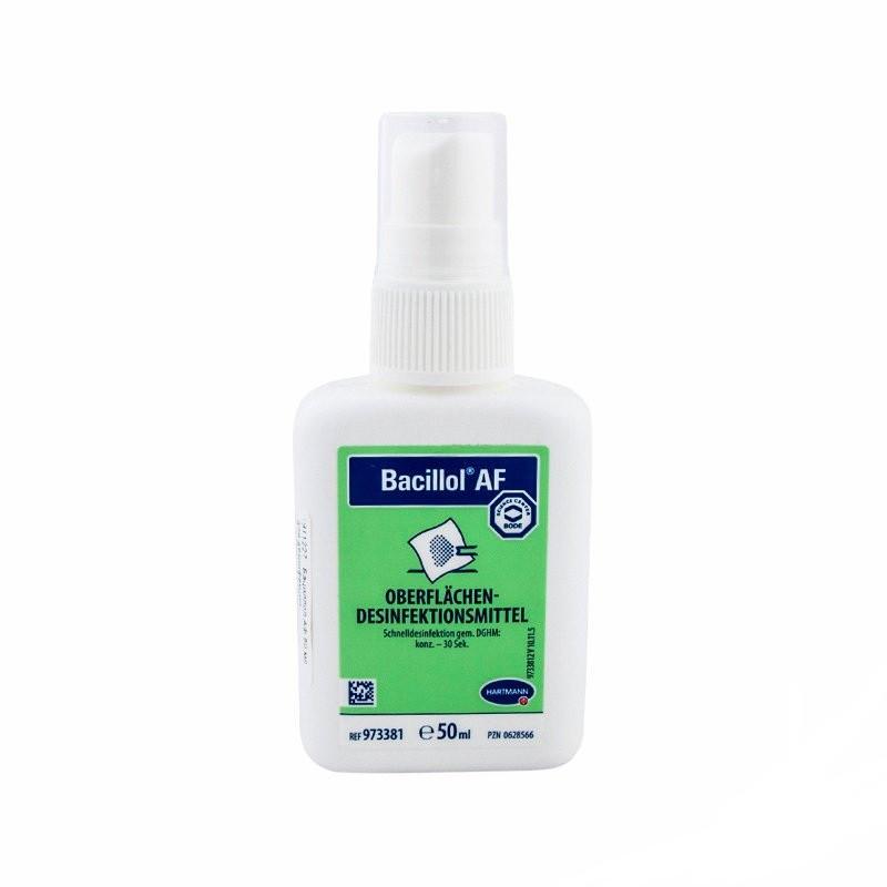 Бациллол АФ для инструментов и поверхностей, 50 ml. (с распылителем)