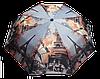 Стильный женский зонт, полуавтомат Эйфелева башня   (SAG-800030)