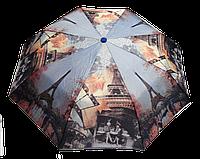Стильный женский зонт, полуавтомат Эйфелева башня   (SAG-800030), фото 1