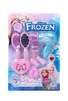 Набор бижутерии для девочек Фрозен jx2022АВ-1 фен и зеркало в упаковке 32,5*21,5*6 см