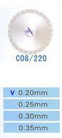 C08/220/0.20 диски алм.двухст.