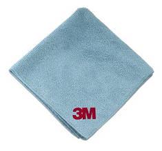 3M 50486 Микрофибровая салфетка Perfect-It III Ultra Soft Cloth Синяя