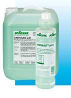 Кондиционер для белья с приятным запахом, антистатический ARENAS-soft, аренас софт, 1л  Kiehl