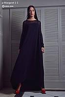Платье женское, черное, осень-зима P-MARGARET1-1
