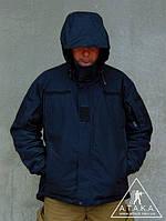 """Куртка Мембранная """"Contractor TJ"""" черная, фото 1"""