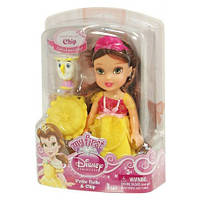 Дисней кукла-малышка Белль и Чип. Оригинал Jakks 75823