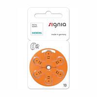 Батарейки для слуховых аппаратов Siemens 13