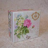 Коробка квадрат S 11,5 х 11,5 х 6,5 см